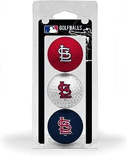 Team Golf MLB Regulation Size Golf Balls, 3 Pack, Full Color Durable Team Imprint