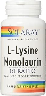 Solaray L-Lysine Monolaurin 1:1 1:1 VCapsules | 60 Count