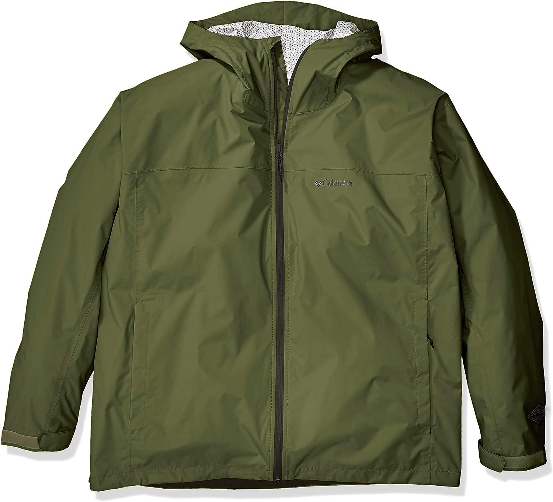 Waterproof and Breathable raincoats Columbia Mens Evapouration Rain Jacket