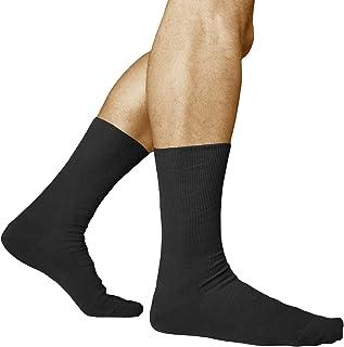 Calcetines Sin Elástico 98% Algodón Hombre (3 PARES) Sin Presión para Relajarse