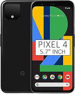Google Pixel 4 G020M 128Gb 5.7 Inch Android Factory Unlocked 4G Lte Smartphone International Version Just Black
