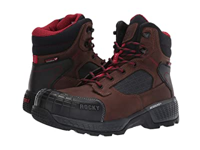 Rocky 6 Treadflex Composite Toe WP (Brown/Black) Men