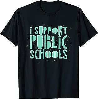 i support public schools shirt