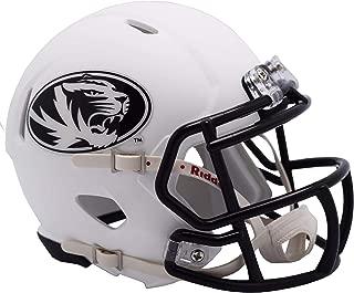 mizzou football helmet white