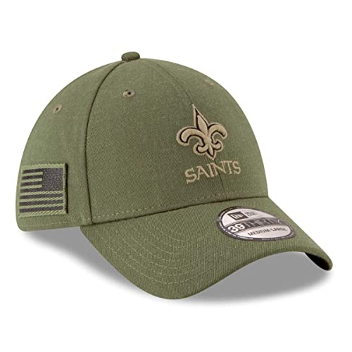 cheap for discount d4898 eb20c New Era Mens NFL 2018 Salute to Service 39Thirty Flex Fit Hat