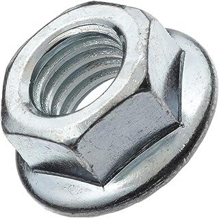 100 3//8-16 Grade 8 Serrated Hex Flange Nuts Locknuts