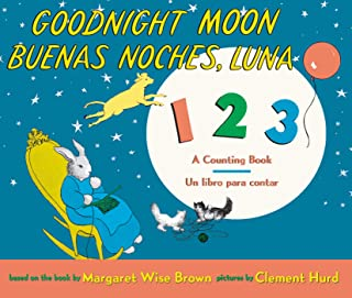 Goodnight Moon 123/Buenas Noches, Luna 123 Board Book: Bilingual Spanish-English