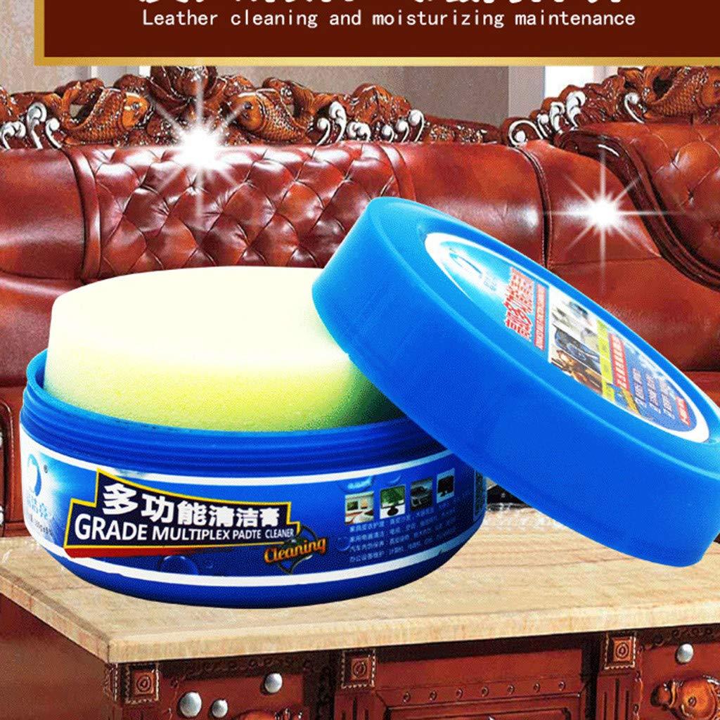 Webla Yi Jieliang - Caja de piel para limpieza antihumedad (caja amarilla), multifuncional, piel, restaurante, limpieza y reparación, azul: Amazon.es: Bricolaje y herramientas