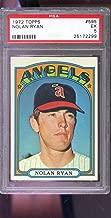 1972 Topps #595 Nolan Ryan California Angels MLB EX PSA 5 Graded Baseball Card