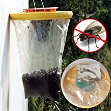 Generic Useful Fly Flies Kill Pest Control Reusable Hanging Fly Catcher Wasp Bug Insect Killer Outdoor Pest Garden Supplies