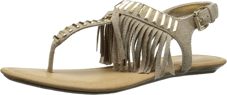 Report Women's Latte Flat Sandal