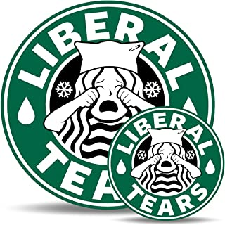 Liberal Tears Bumper Sticker and Magnet Set