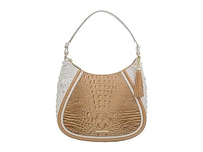 Brahmin Amira Enchant Shoulder Bag (Shortbread) Handbags
