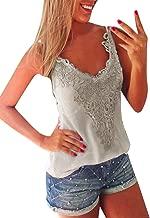 ZANZEA Women's Sexy Long Sleeve/Sleeveless Lace Crochet T Shirt Blouse Tank Tops Camis Vest