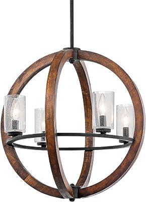 Amazon.com: Bodega Bay - Lámpara de araña con bombilla (5 ...