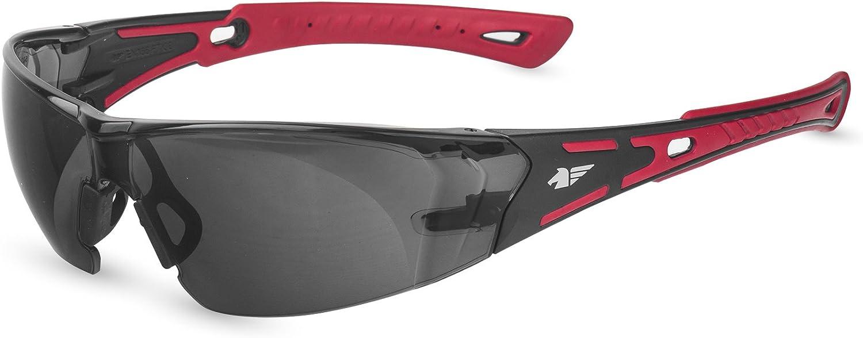 Pegaso 103.02 Gafas de Protección, Rojo y Negro, L: Amazon.es: Bricolaje y herramientas