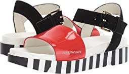 Color Block Sandal