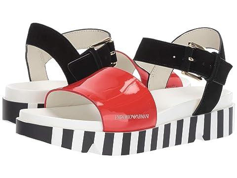 Emporio Armani Color Block Sandal