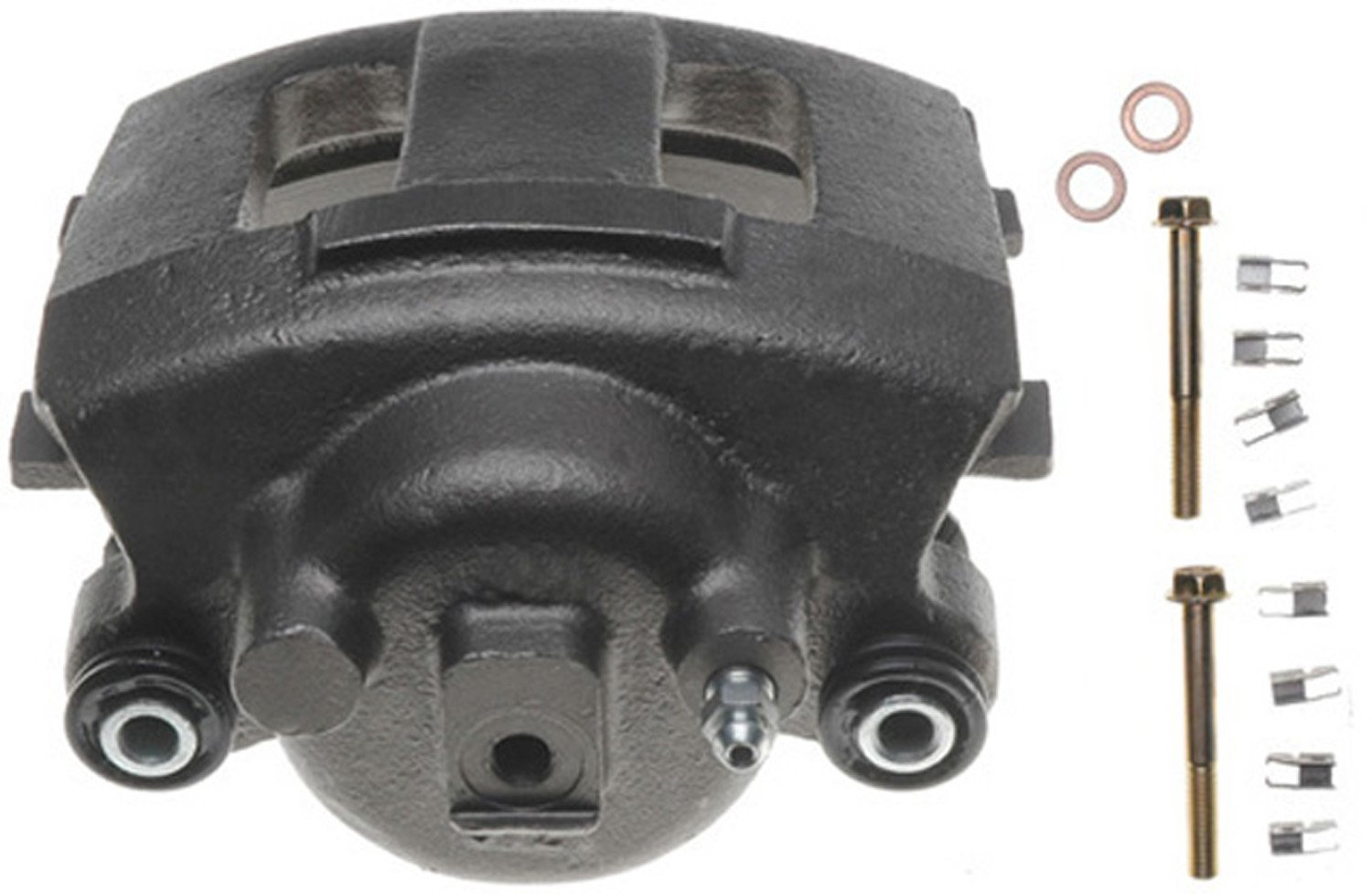 Friction Ready ACDelco 18FR2118 Professional Durastop Front Driver Side Disc Brake Caliper Assembly without Pads Remanufactured