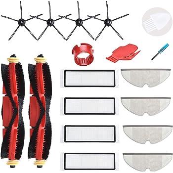 Filter Side Roller Brush Rag Kit For Roborock Robot S50 S51 S55 S6 Vacuum Parts