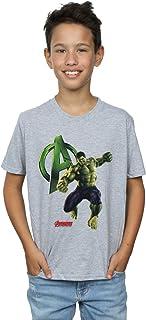Marvel Jungen Hulk Pose T-Shirt