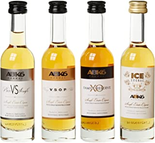 ABK6 Abécassis Cognac Miniaturen Geschenkbox 4 x 0.05 l