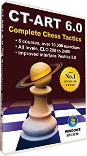 CT-ART 6.0. Complete Chess Tactics - Training Software