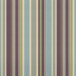 Sunbrella Outdoor Stripe Brannon Whisper Fabric By The Yard