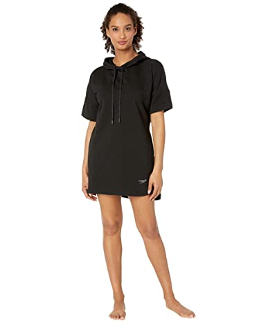 Speedo Hoodie Cover-Up (Speedo Black) Women