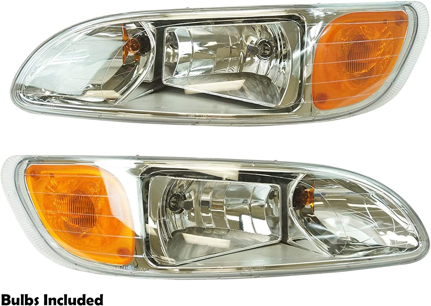 APA Replacement Headlight with Bulb for 325 330 335 00-15 Free shipping anywhere in the San Antonio Mall nation Truck