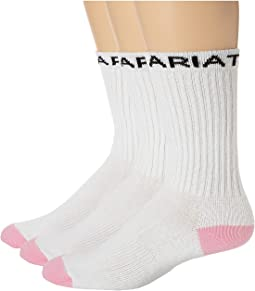 Ariat Crew Sport Sock 3-Pack