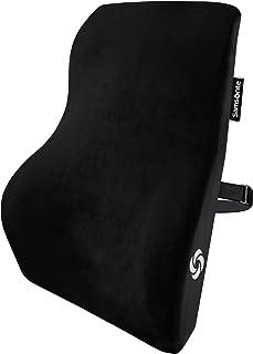 SAMSONITE   Lendenwirbelstütze mit 100 % reinem Memory Schaum, passend für die meisten Sitze