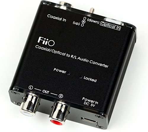 CLOSEOUT FiiO D3 Digital to Analog Audio Converter - 192kHz24bit Optical and Coaxial DACNO BOX GOOD CONDITION product image