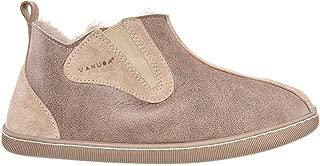 Columbia - Zapatillas para Hombre Hechas a Mano, Cuero Natural, 100% Lana de Oveja, Zapatos caseros cómodos y cálidos