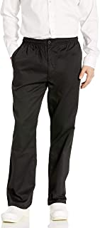 Chef Code Men's Basic Baggy Chef Pant with Zipper