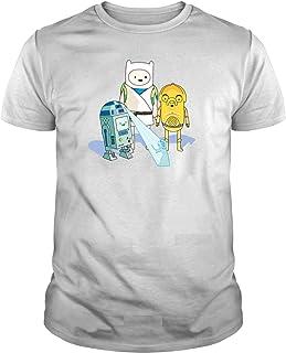 Camiseta de NIÑOS Hora de Aventuras Jake Finn Star Wars