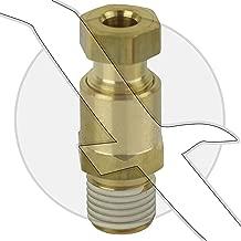 EMP 22-05154 Exhaust Manifold & Engine Block Water Drain Plug Fitting for Mercruiser 22-16951Q1