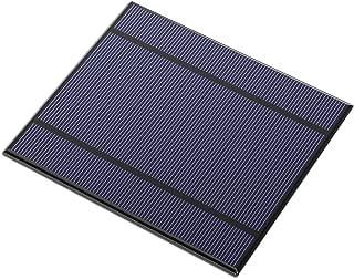 ALLPOWERS 2.5W 5V/500mAh Mini Encapsulated Solar Cell Epoxy Solar Panel DIY Battery Charger Kit for Battery Power 130x150mm (Solar Panel Only)