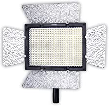 YONGNUO YN600L Pro LED Video Light/LED Studio Light with 5600K Color Temperature and Adjustable Brightness for Canon Nikon Pentax Olympus Samsung Panasonic JVC etc.