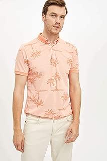 DeFacto Desenli Slim Fit Polo T-shirt