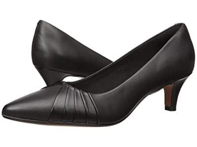 Clarks Linvale Crown (Black Leather) Women