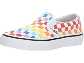 abaa96e400897f Vans Kids Classic Slip-On (Little Kid Big Kid) at Zappos.com