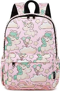 Abshoo Little Kids Unicorn Toddler Backpacks for Girls Preschool Backpack With Chest Strap (Unicorn Pink)