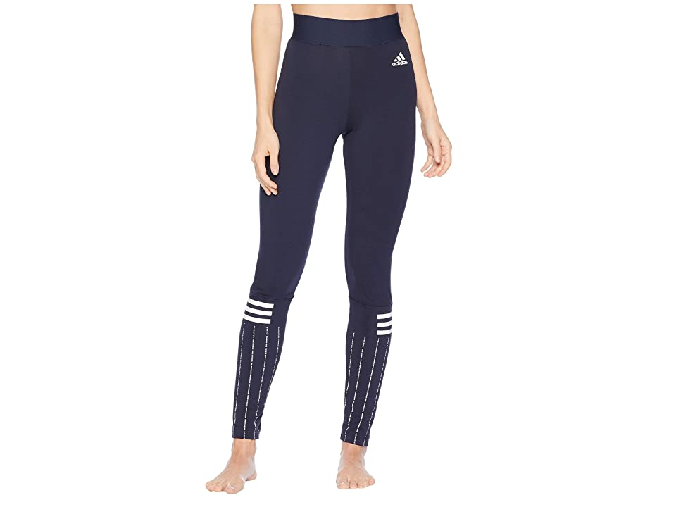 adidas Sport ID Printed Tights (Legend Ink/White) Women
