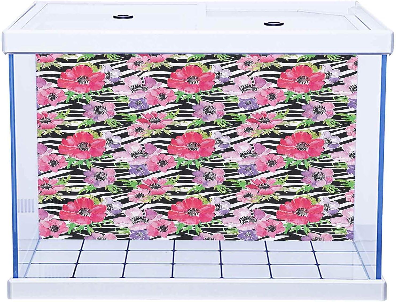Fish Tank Static Cling Wallpaper Abstrac Sticker Super sale Yang Ying Austin Mall Decor