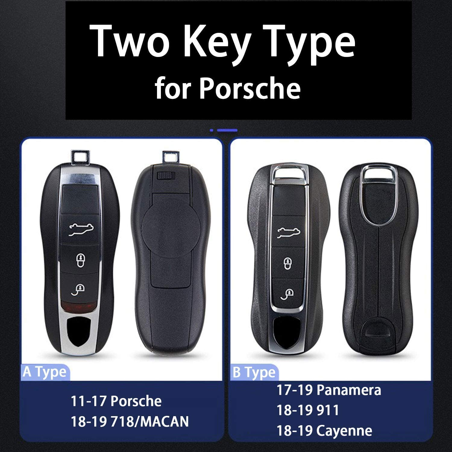 Kwaks Key Case for Porsche Pink Pig ABS Car Key Cover Fits for Porsche Boxster Turbo Cayenne Panamera Macan Cayman 911 Key Holder Car Key Cover AType Orangepink