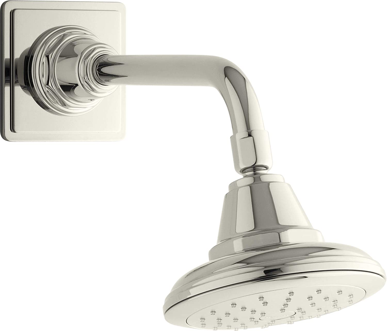 KOHLER 45417-G-SN Pinstripe Many 1 year warranty popular brands Showerhead Polished Nickel