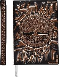 YHH A5 Carnet Ligné Couverture Rigide, Ancien Jour