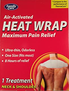 Air-Activated Heat Wrap for Neck & Shoulder (3 Packages)
