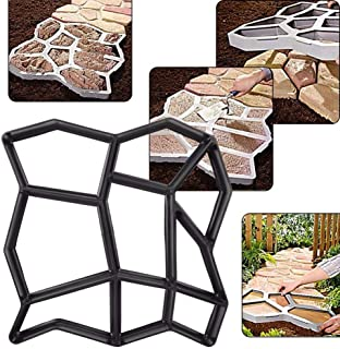 Plastic Making DIY Paving Mould Home Garden Floor Road Concrete Stepping Driveway Stone Path Mold Patio Maker Dropshipping